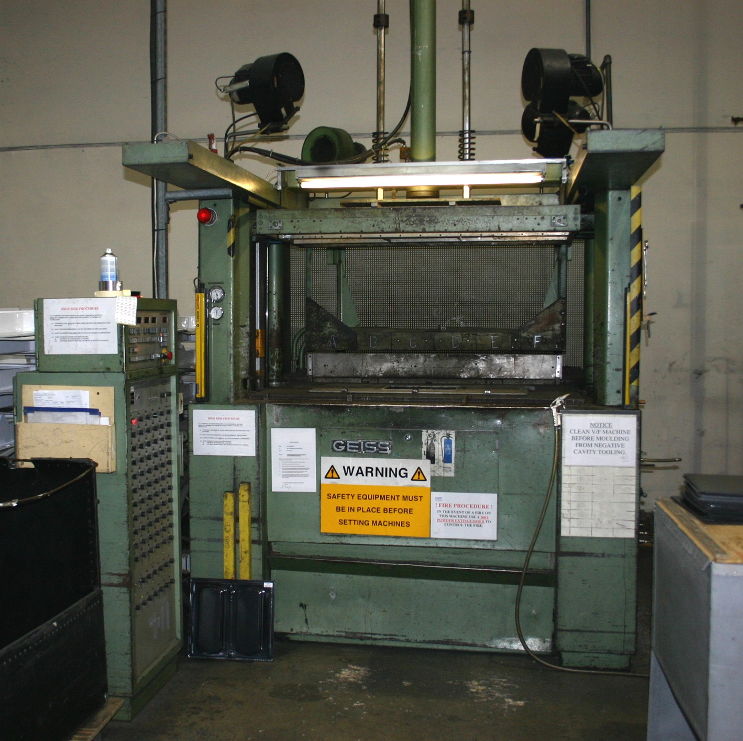 Plastic Thermoforming Machinery For Sale Disposal . A406.com A Resource For The Valuation And